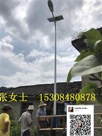 株洲醴陵太阳能路灯价格 6米7米路灯批发