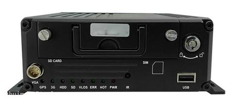 4路车载NVR 四路高清网络硬盘+SD卡车载录像机NK-MCNVR5004
