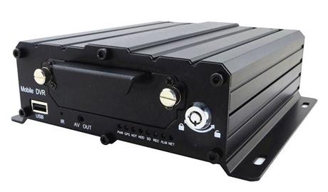 AHD车载硬盘录像机 派尼珂高清AHD混合输入车载录像机