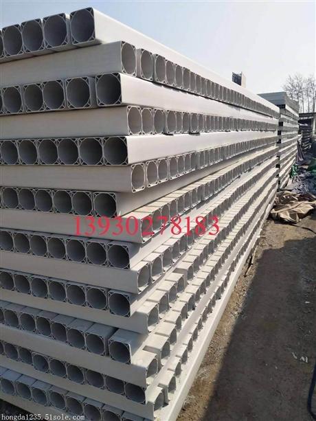 PVC方管单孔格栅管  九孔格栅管