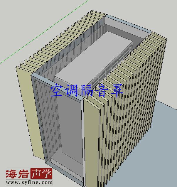 成都广汉德阳中央空调噪音处理隔音办法解决