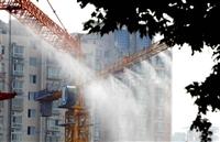鄂州LS工地塔吊喷淋降温夏季处理