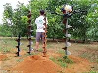 实用型电力打桩挖坑机钻孔机价格