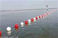PE浮球 浮球安装方法 河面警示PE浮球