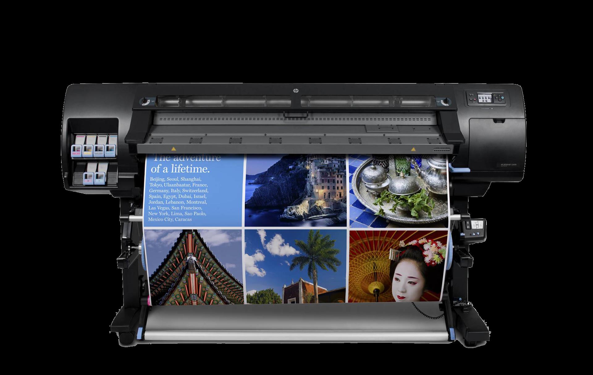 hp高端写真机latex