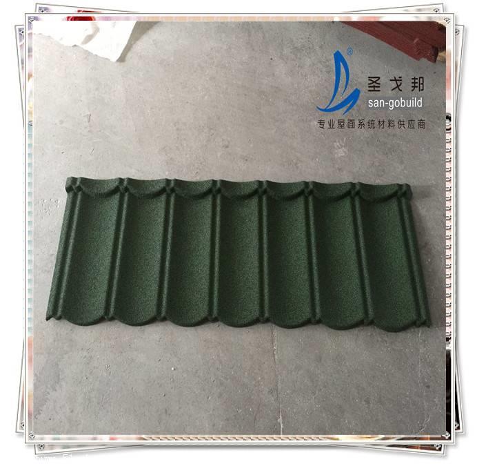 蚌埠彩石金属瓦加厚厂家
