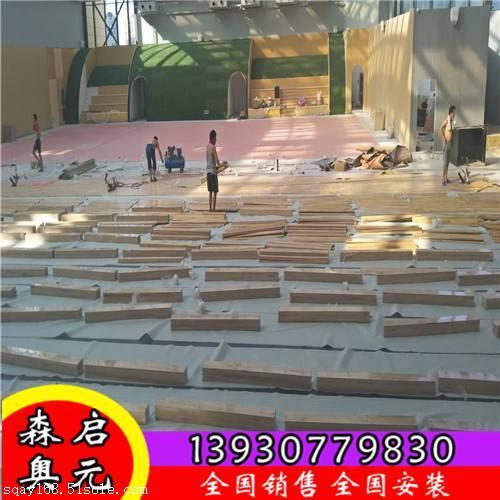 篮球馆木地板常用的安装结构 有几种