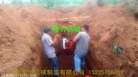 加强电力栽杆打洞机硬土专用地钻