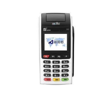 深圳手机pos机,瑞银信新国都G2移动pos机自选商户,笔笔积分