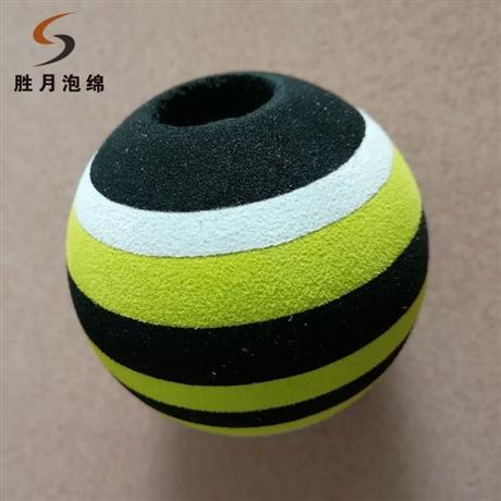 厂家销售eva儿童玩具球 宠物玩具球 彩色发泡球