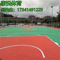 泸州丙烯酸球场施工 篮球场彩色耐磨地坪 丙烯酸球场看台