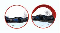 济南厂家直销道路安全凸面镜、室内外广角镜 公路反光镜 不同尺寸