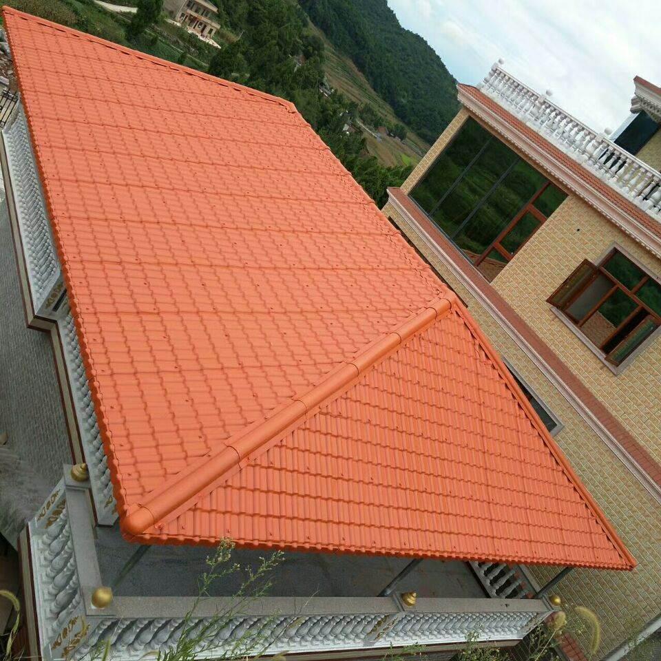 新闻资讯 汕头金平树脂瓦,钢结构屋顶瓦,树脂琉璃瓦厂家  现在的仿古