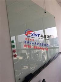 江门磁性板定制软白板F安装钢化玻璃白板F写字板会议室