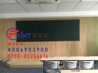 东莞单面大黑板绿板F用粉笔写字板F磁性绿板板