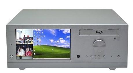 数字录播一体机 嵌入式录播导播刻录一体机NK-6404ERCDB