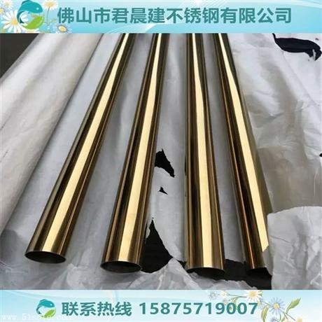 黄钛金不锈钢方管6米*100*100*1.1