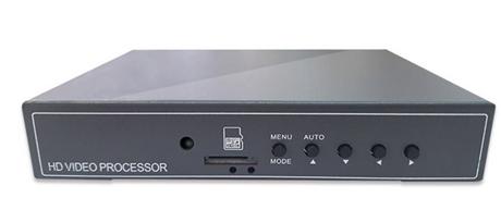 高清画面分割器 新一代同轴高清AHD四画面分割器NK-AHDR4004CQ