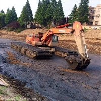 贵州省安顺租赁水路两栖挖机优惠