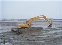 四川省自贡租赁水上船挖机包月