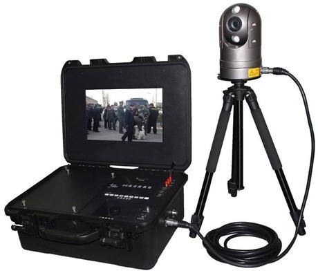 野外4G便携式执法箱 高清便携式录像+4G+电池系统应急指挥箱