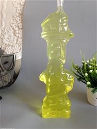 创意生日快乐酒瓶字体造型玻璃瓶