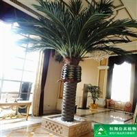 厂家直销仿真海枣树,假海枣树,室内外景观海藻树定制