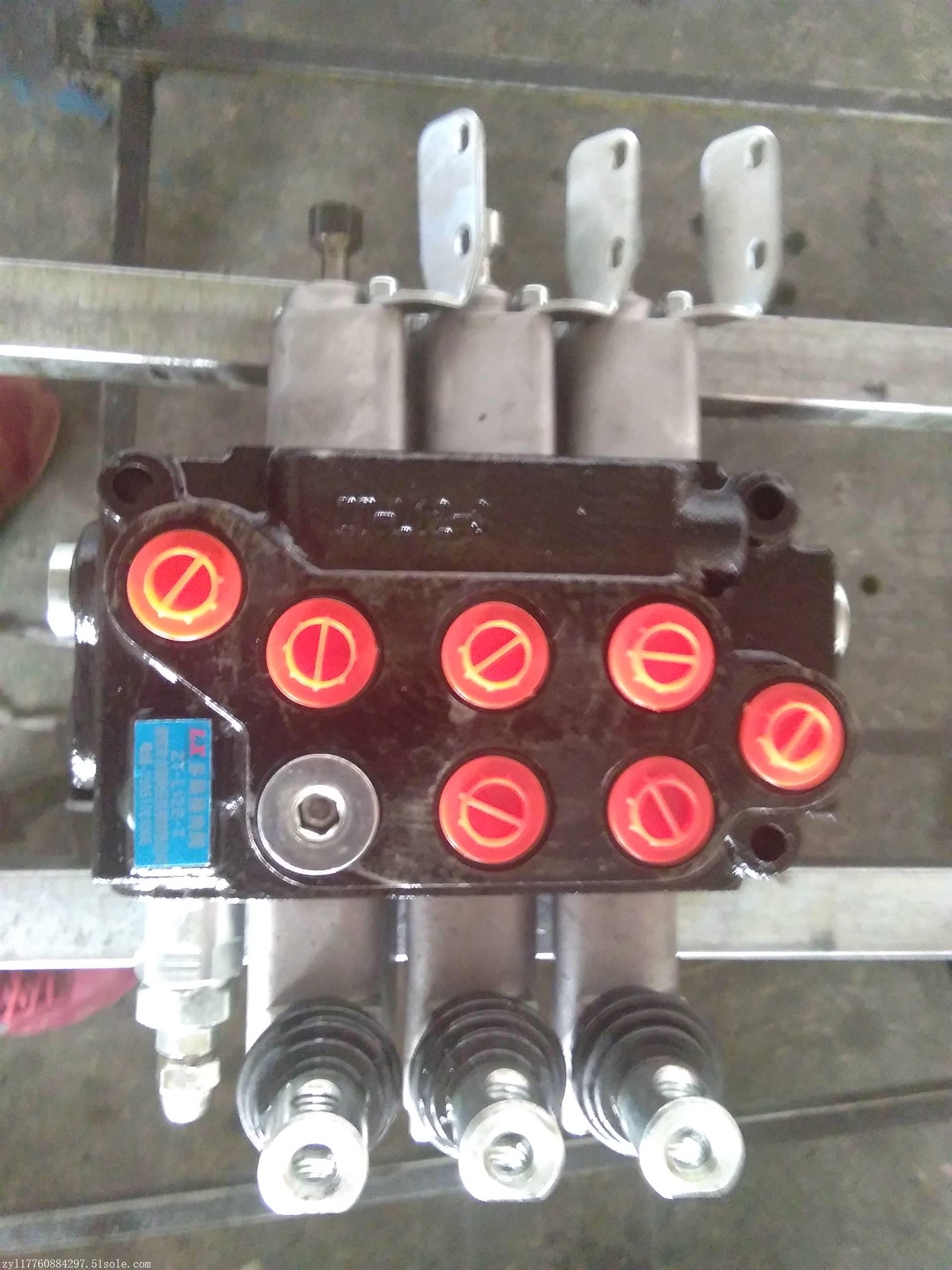 zl15.2分片式多路阀分配器 青州昌盛液压装载机铲车图片