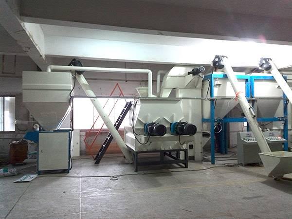 供应新型腻子粉,干粉砂浆生产设备