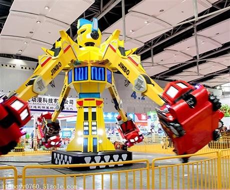 大型游乐场设备-变形金刚图片
