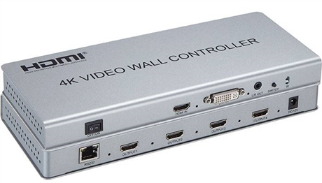 高清画面分割器 超高清4K HDMI四画面分割器NK-4K204HDMIQ