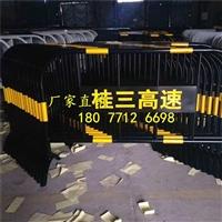 广西黄黑铁马护栏市政隔离栏丨南宁可移动铁马围栏交通施工护栏