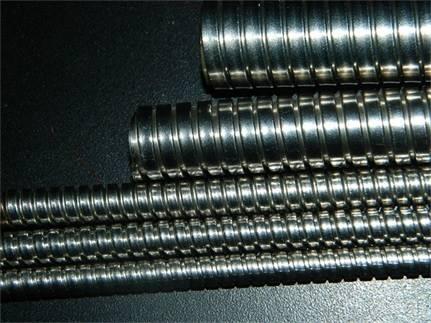内径32mm双扣不锈钢金属软管
