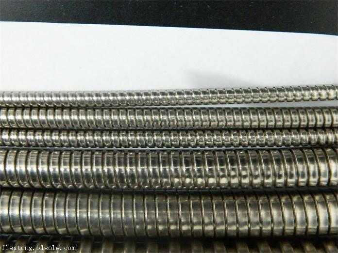 郑州登封304双扣不锈钢金属软管FSS-I12