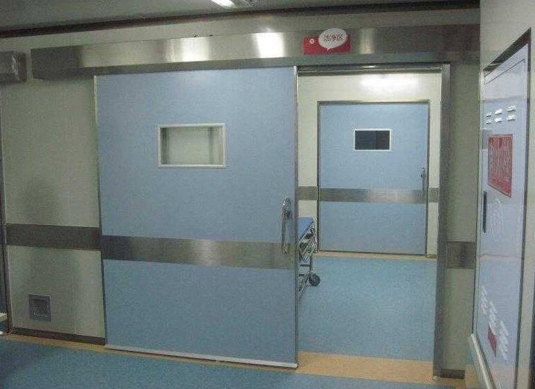 铅门结构安装