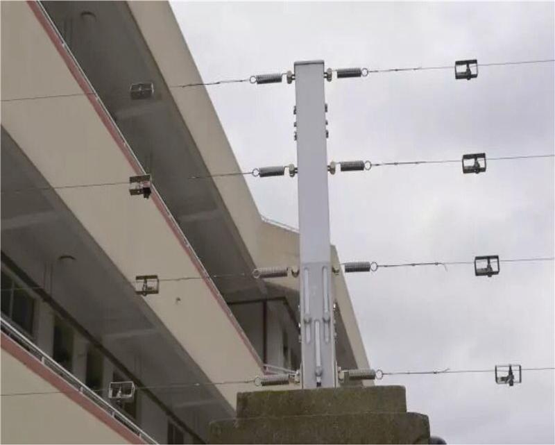 张力式电子围栏   拓天周界安防产品厂家