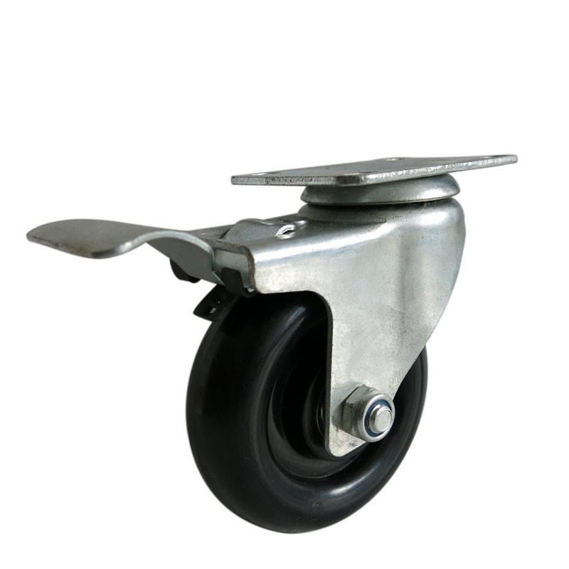 刹车脚轮 6寸刹车脚轮  刹车脚轮厂家