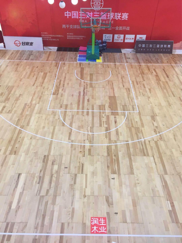 河北廊坊篮球馆运动木地板生产厂家