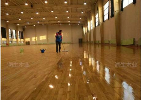 湖北荆门体育实木地板生产厂家