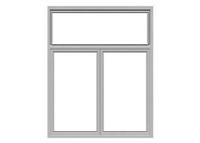 钢质固定防火窗