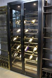 不锈钢酒柜,不锈钢红酒展示柜厂家