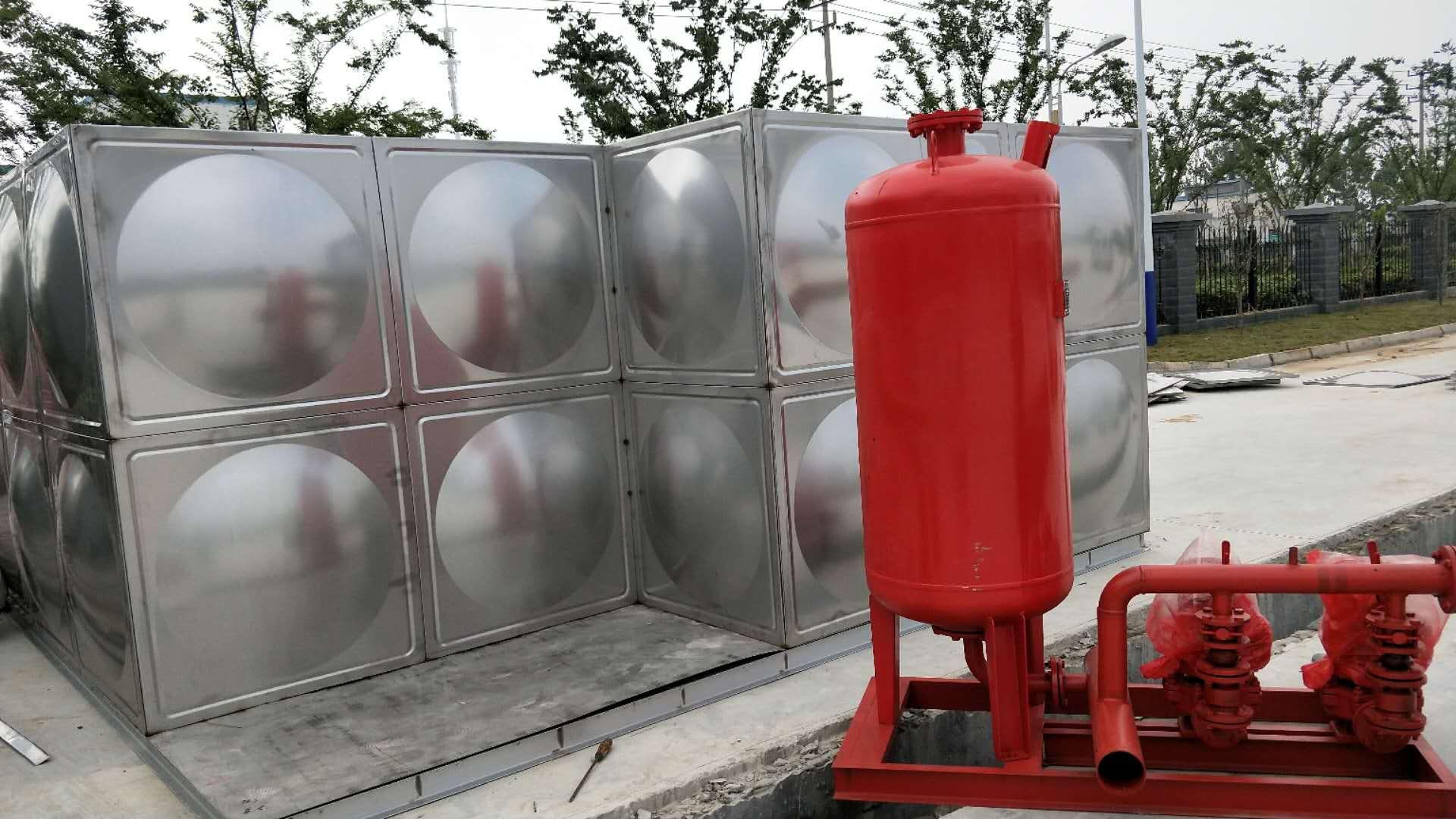 新乡不锈钢消防水箱厂家不锈钢水箱厂家直销