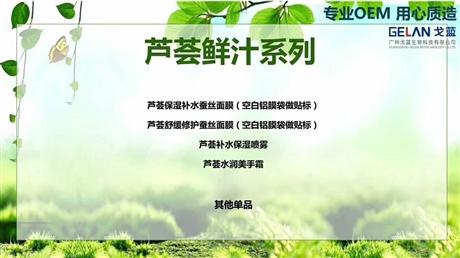 芦荟解毒液生产加工