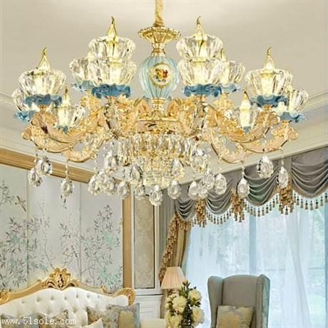 客厅灯哪个牌子好 新型古典灯饰 新型布艺灯