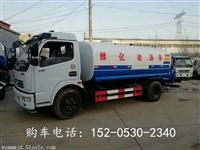 安徽安庆5立方洒水车厂家 8吨洒水车价格光宏机械制造