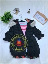 上海品牌童装ABC童装冬季外套批发价格