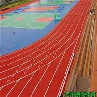 凉山塑胶跑道施工 球场跑道翻新工程项目 环保原材料生产厂家