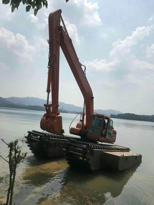 广东水陆挖掘机出租租赁改装方案