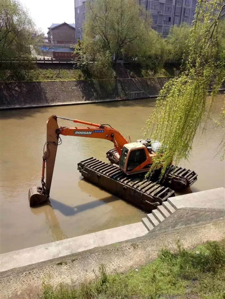 九江水陆挖掘机出租价格