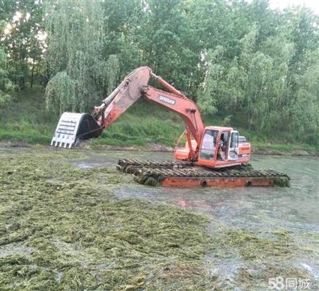 黄石水陆两用挖掘机出租价格
